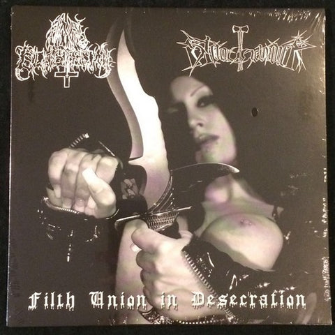 "Abstain / Nasum ""Religion Is War / The Black Illusions"" 7''"