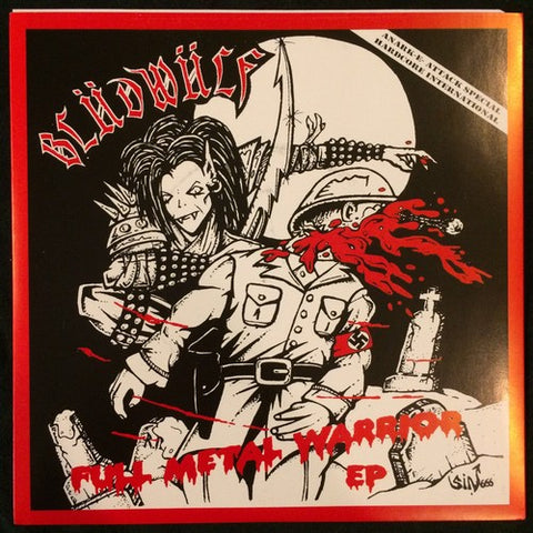 "Blüdwülf ""Full Metal Warrior"" 7"""