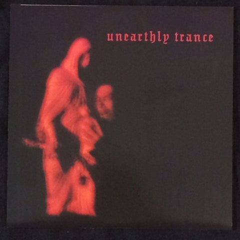 "Unearthly Trance ""Frost Walk With Me"" Red Vinyl 7"""