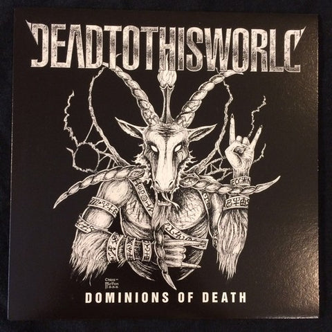 "Dead To This World ""Dominions Of Death"" 7"""