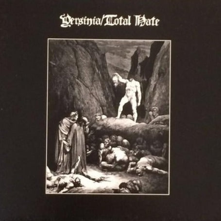 Yersinia / Total Hate Split 7'' (Raw Black Metal)
