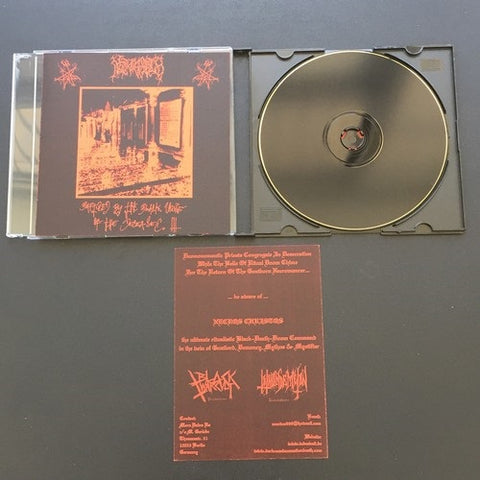 "Necros Christos ""Baptized by the Black Urine of the..."" CDR Demo"