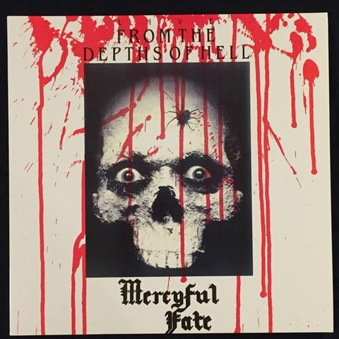 "Mercyful Fate ""Live From the Depth of Hell"" Red Vinyl LP"