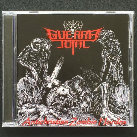 "Guerra Total ‎""Antichristian Zombie Hordes"" CD"