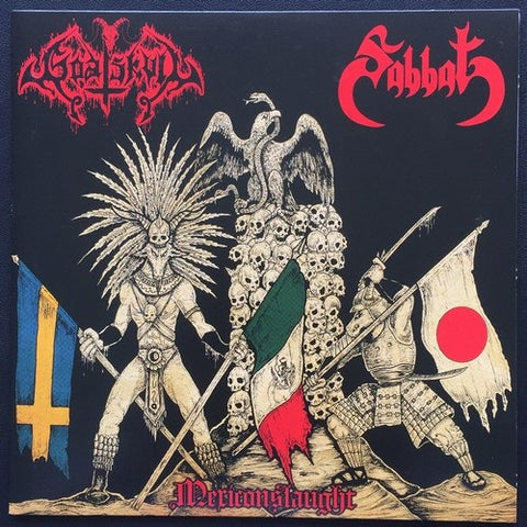 "Sabbat / Goat Skull ""Mexiconslaught"" Split 7"""