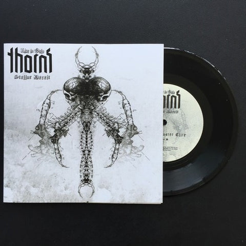 "Thorns ""Stellar Deceit - Live In Oslo"" Black Vinyl 7"""