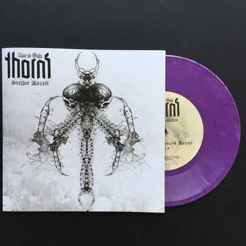 "Thorns ""Stellar Deceit - Live In Oslo"" Purple Vinyl 7"""