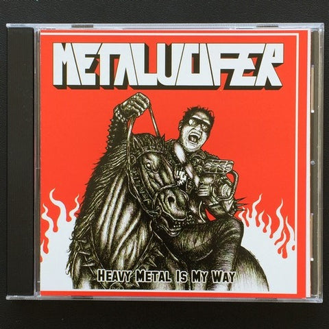 "Metalucifer ""Heavy Metal is My Way"" CD"