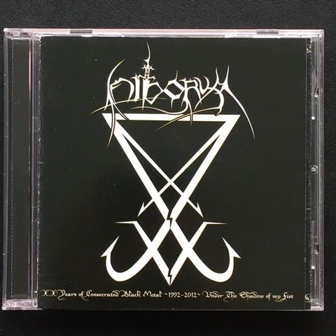"Hiborym ""XX Years Of Consecrated Black Metal ~ 1992-2012"" CD"