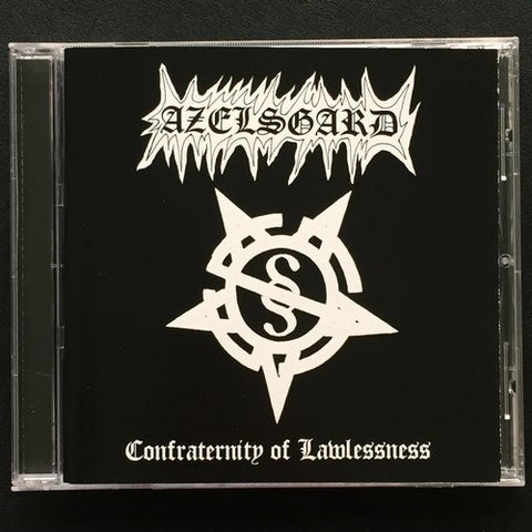 "Azelsgard ""Confraternity of Lawlessness"" CD"