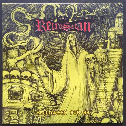 "RetroSatan ""Helloween Pub 88"" LP (Argentine Heavy Metal Cult)"
