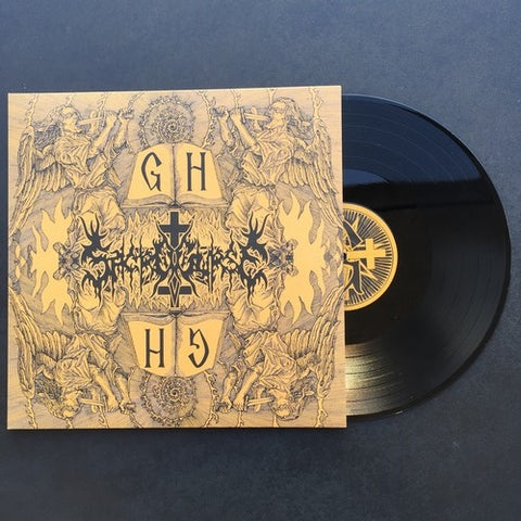 "Sacrocurse ""Gnostic Holocaust"" Black Vinyl LP"
