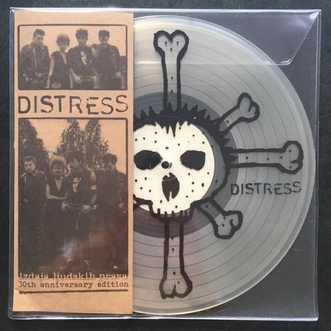 "Distress ""Izdaja Ljudskih Prava - 30th Anniversary Edition"" Clear Vinyl MLP"