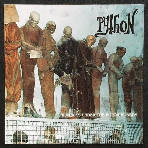 "PYTHON ""Rumbles under the Floorboards"" 7"" (Lim to 100)"