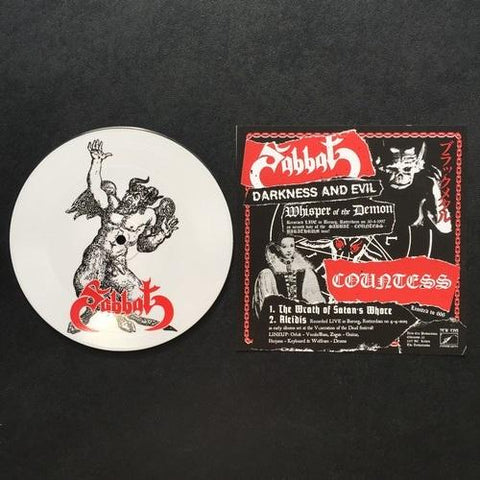 Sabbat / Countess Split Pic 7""