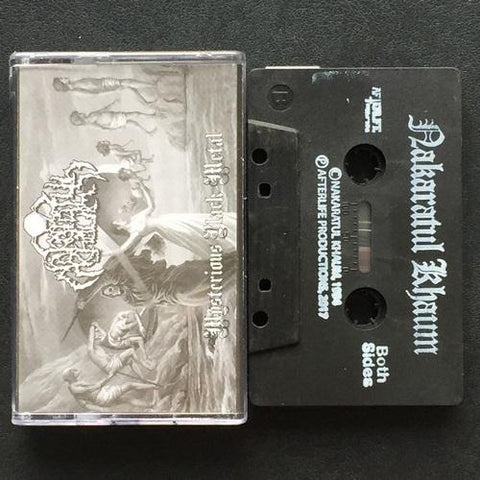 "Nakaratul Khaum ""Agothoa Of Sakaraka's Side"" Demo (Malay Black Metal 1994)"