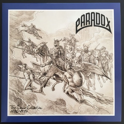 "Paradox ""The Demo Collection 1986-1987"" Double LP"