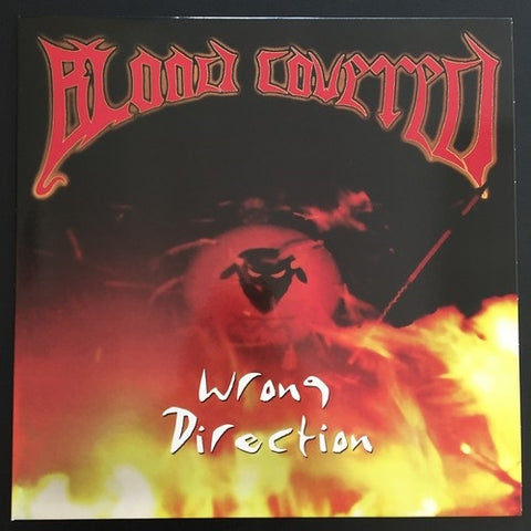 "BLOOD COVERED ""WRONG DIRECTION"" LP"