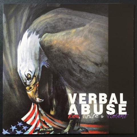 "VERBAL ABUSE ""Red, White & Violent"" LP"