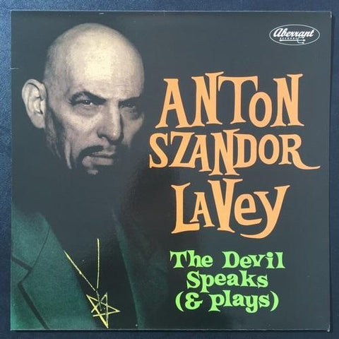 "Anton Lavey ""The Devil Speaks (and Plays!)"" LP"