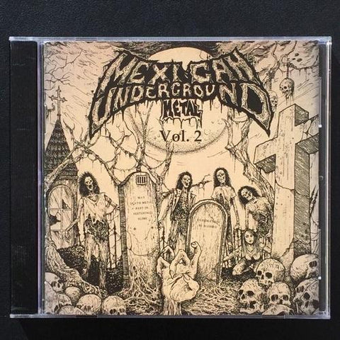 V/A Mexican Underground 1984 - 1994 vol 2 CD