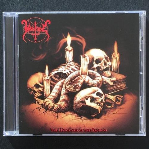 "Nekrape ""The Hypostasis Of The Archons"" CD"