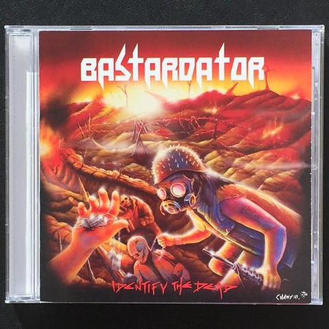 "Bastardator ""Identify the Dead"" CD"