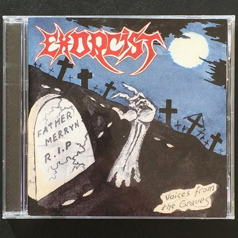 "Exorcist ""Voices from the Graves"" CD (Cult Polish Thrash)"