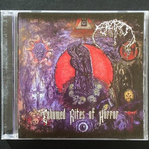 "FERETRO ""Exhumed Rites of Horror"" CD"