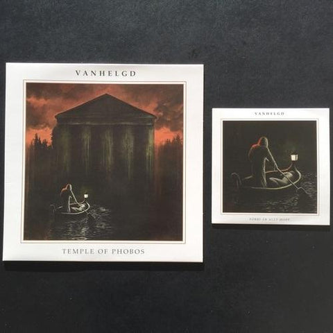 "Vanhelgd ""Temple of Phobos"" LP+7"""