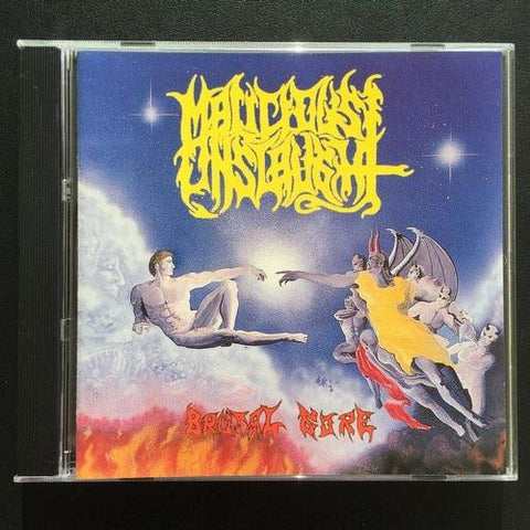 "Malicious Onslaught ""Brutal Gore"" CD"