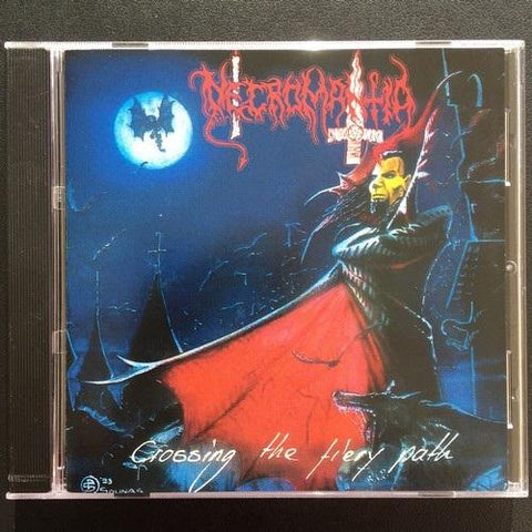 "Necromantia ""Crossing the Fiery Path"" CD"