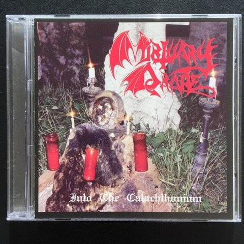 "Mortuary Drape ""Into the Catachthonium"" CD"