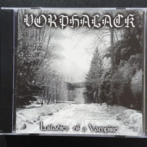 "Vorphalack ""Lullabies of a Vampire"" CD"