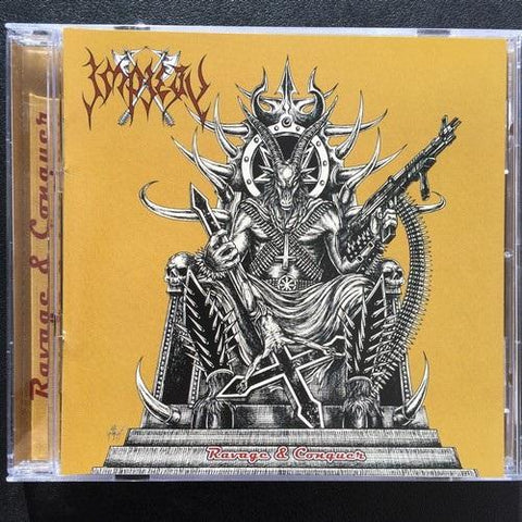 "Impiety ""Ravage and Conquer"" CD"