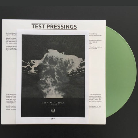 "Chaos Echoes "" Mouvement"" Test Press LP"
