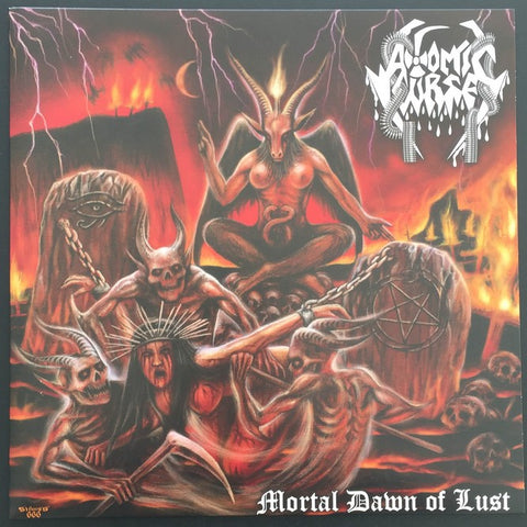 "Atomic Curse ""Mortal Dawn of Lust"" LP"