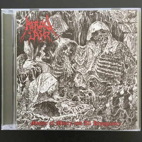 "Ritual Lair ""Mother of Misery and All Repugnance (Diabolo Intervale)"" CD"
