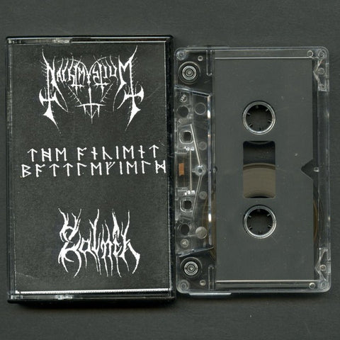 "Nachtmystium / Zalnik ""The Ancient Battlefield"" Split Demo"