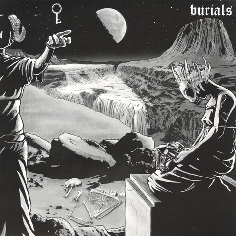 BURIALS / EXHAUSTED PRAYER Split LP