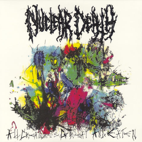 "Nuclear Death ""...For Our Dead... / All Creatures Great And Eaten"" LP"