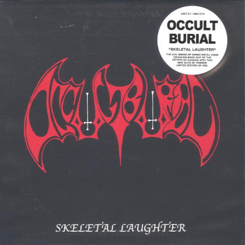 "Occult Burial ""Skeletal Laughter"" 7"""