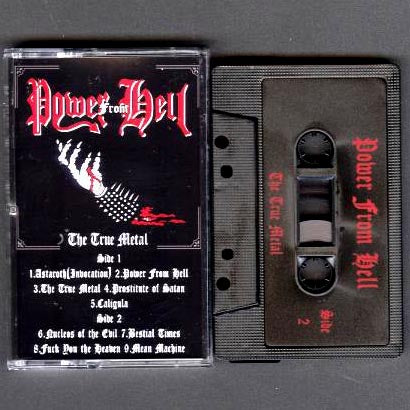 "Power From Hell ""The True Metal"" MC"