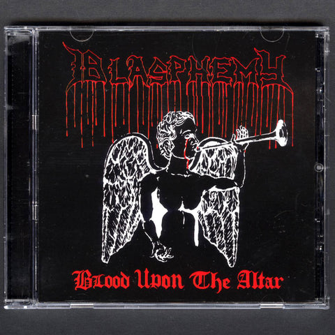 "Blasphemy ""Blood Upon the Altar + Bonus"" CD"