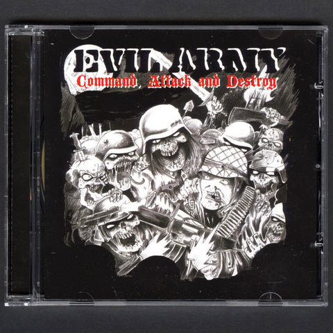 "Evil Army ""Command, Attack And Destroy"" CD"