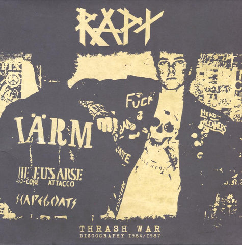 "RAPT ""Thrash war /discography 1984-87"" LP+7""+CD"