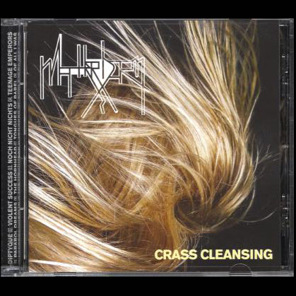 "Matterhorn ""Crass Cleansing"" CD"