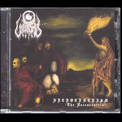 "UTTERTOMB ""NECROCENTRISM: THE NECROCENTRIST"" CD"