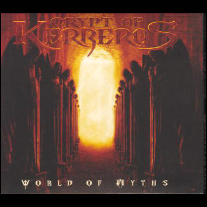 "CRYPT OF KERBEROS ""WORLD OF MYTHS"" Digipak CD"
