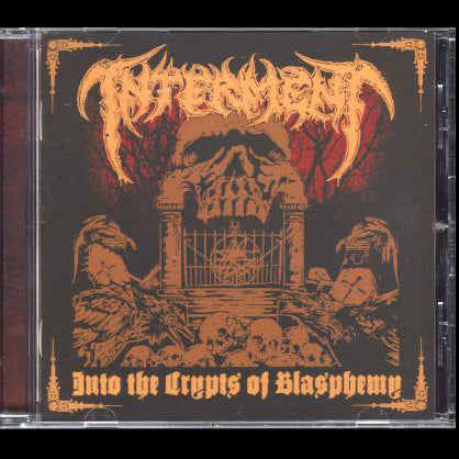 "Interment ""Into the Crypts of Blasphemy"" CD"